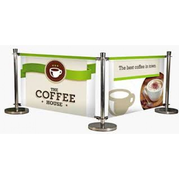 Cafe banner printing for coffee shop by grange print