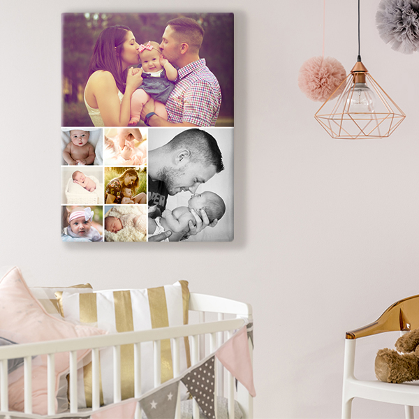 Collage Canvas Gift - Use code DAD85