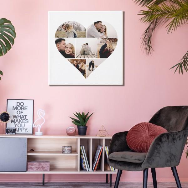 Shape Collage Canvas