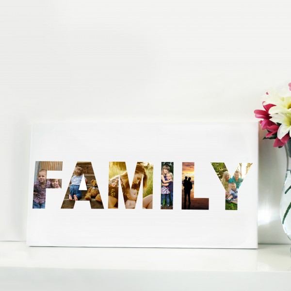 Word Collage Canvas