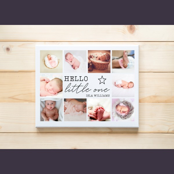 New Baby Canvas Gifts