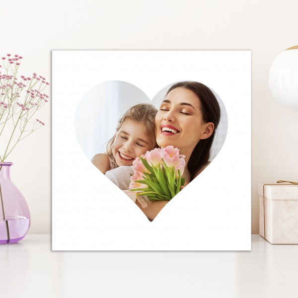 Heart Shaped Canvas - 85% off with MUM85