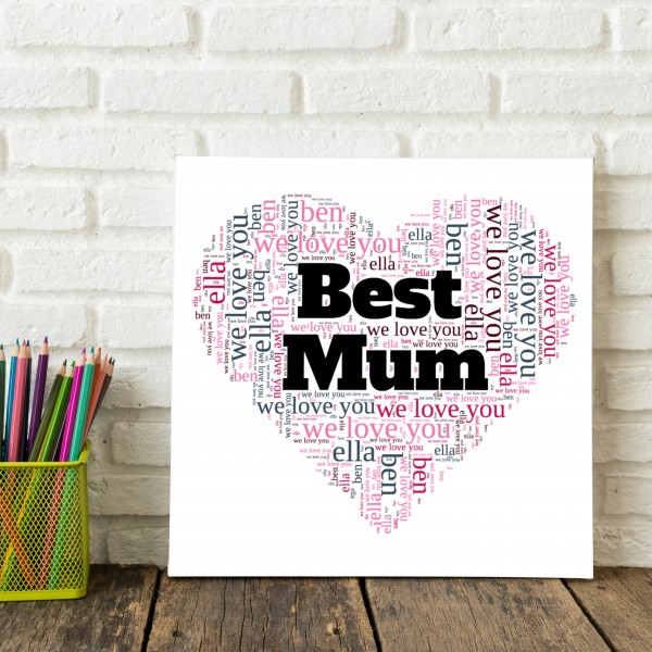 Word Art Canvases - Use MUM85