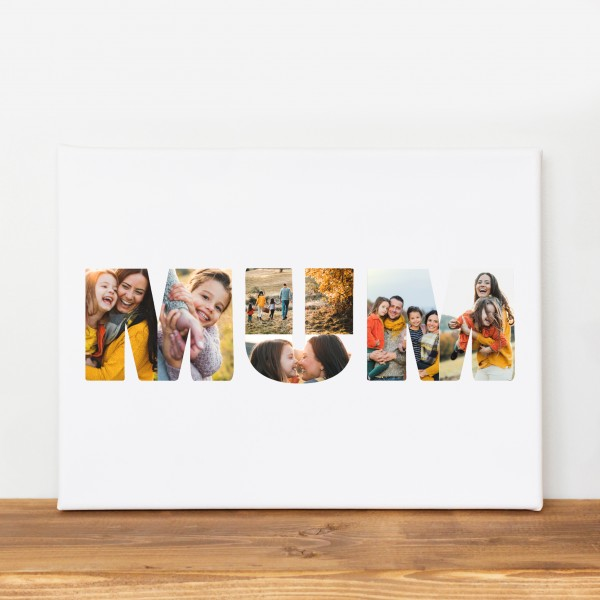 Mum Photo Canvas - 85% off with MUM85
