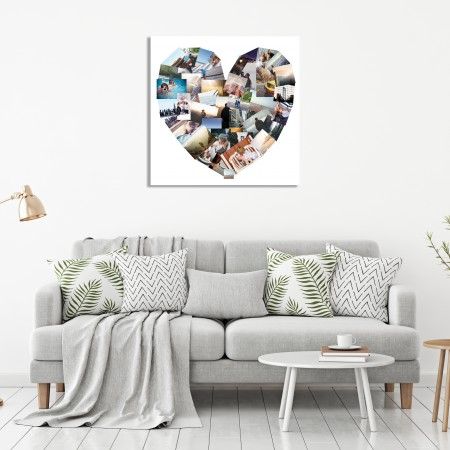 Heart 40 Image Canvas
