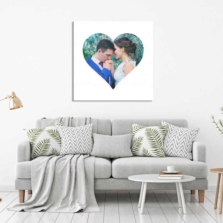 Heart Single Image Canvas