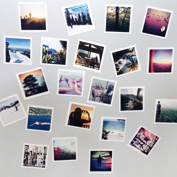 Photo Fridge Magnets - Sheet of 24