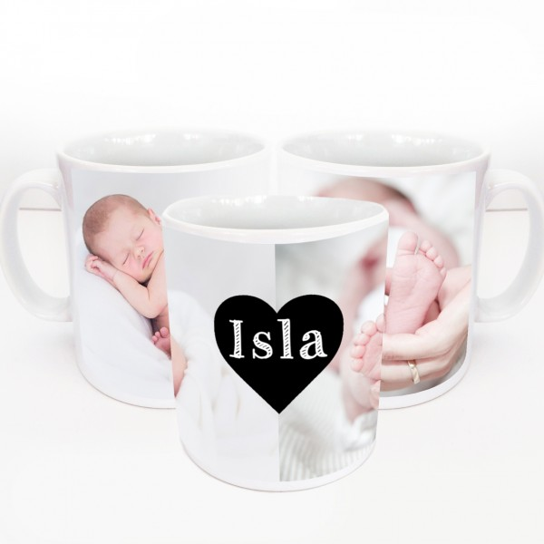 Personalised Mugs with Photos or Text
