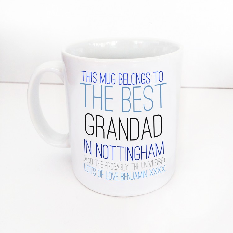 This Mug belongs to...Grandad