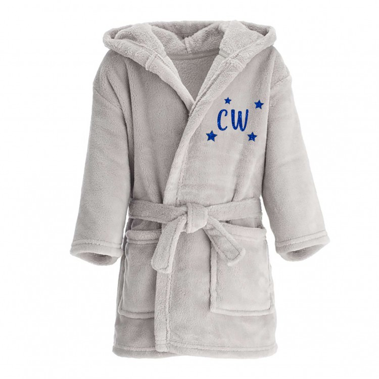 Kids Personalised Dressing Gown