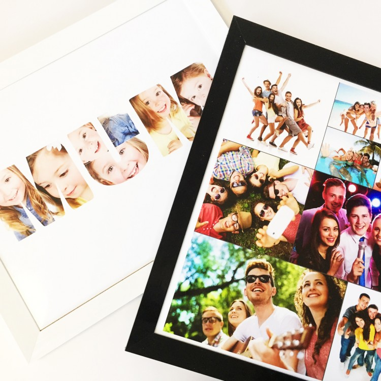 8x12 Inch Portrait Photo Collage Poster