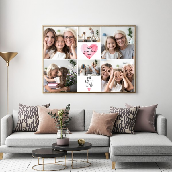 Collage Photoprint Poster