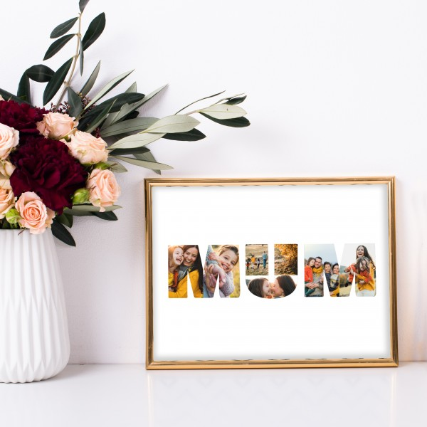 Mum Photoprint Poster