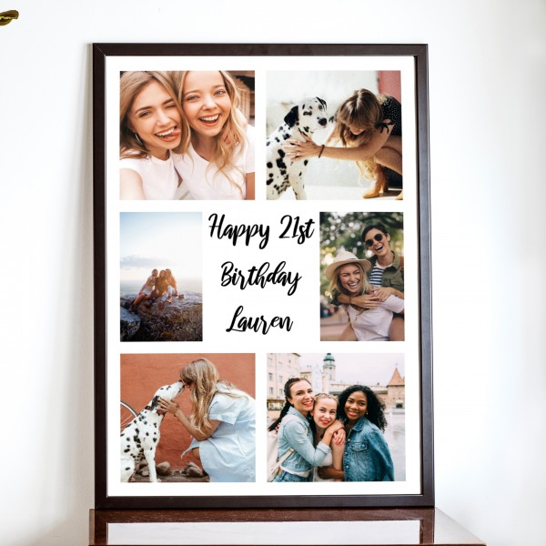 Portrait Text and Photo Posters