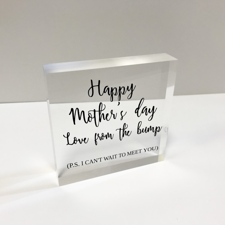 4x4 Glass Token - Mother's Day from bump