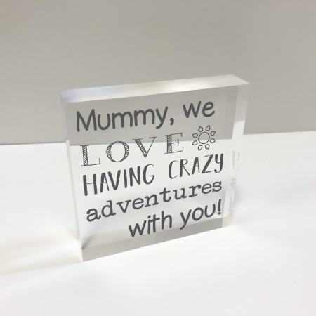 4x4 Glass Token - Mum adventures