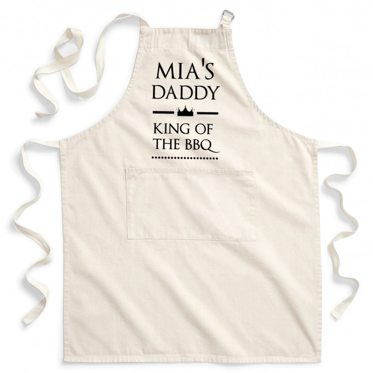 Personalised Apron Adults - Natural Cotton
