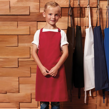 Personalised Apron Kid's - Red