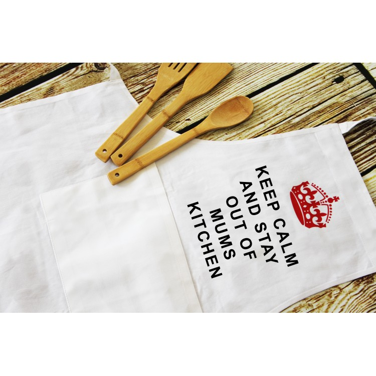 Personalised Apron - white