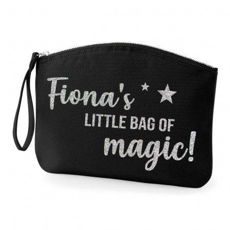 Personalised Organic Cotton Bag - Full Black