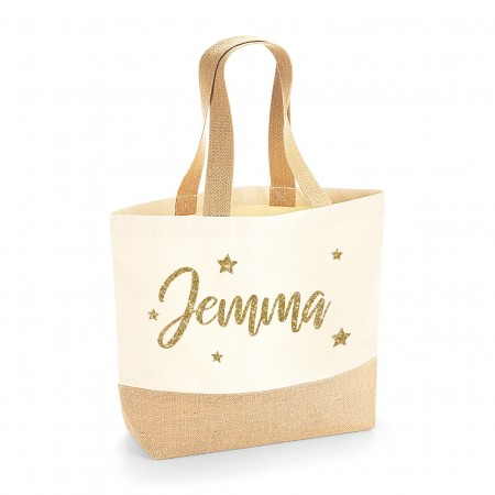 Personalised Premium Canvas Tote Bag