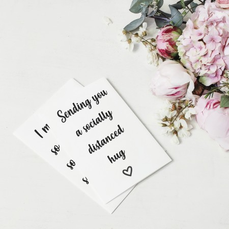 Missing You Collection Cards - Pack Of 8