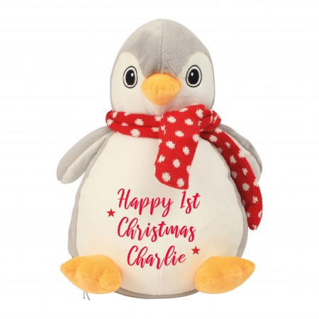 Personalised Penguin Zippie