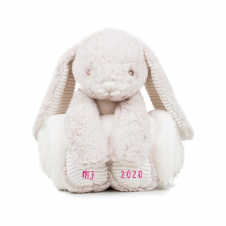 Personalised Rabbit with Blanket