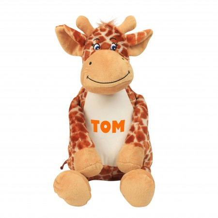Personalised Giraffe Zippie