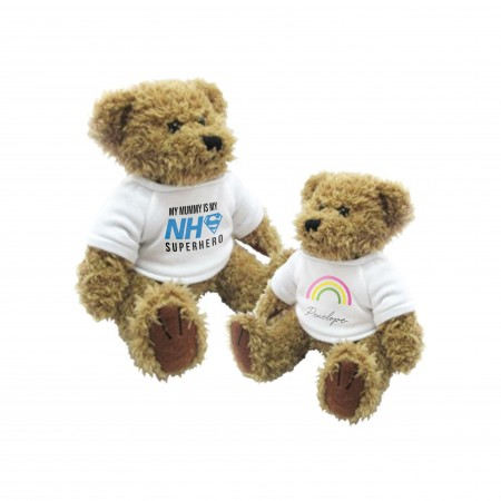 Personalised Teddy Bear  - Small