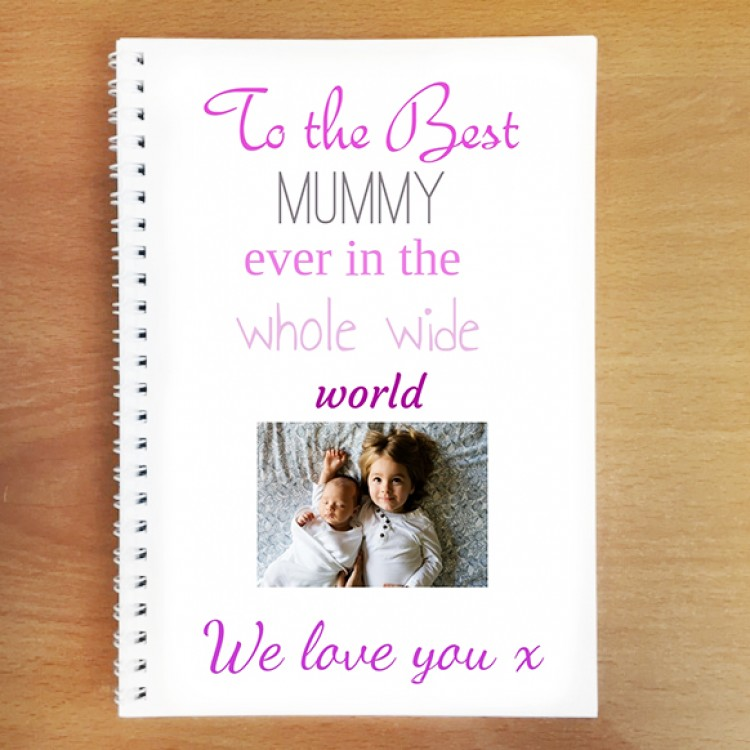 Personalised Notebook - Design Your Own