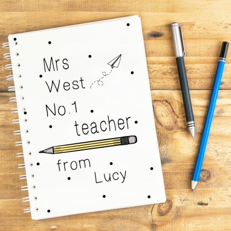 No. 1 Teacher Notebook A5