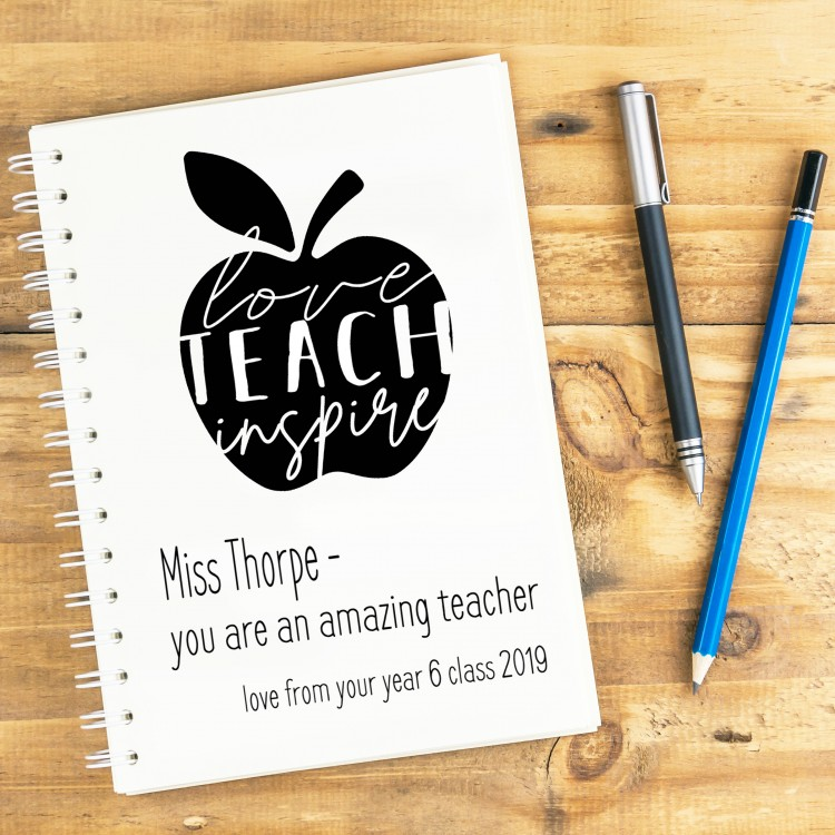 Teach Love Inspire Notebook