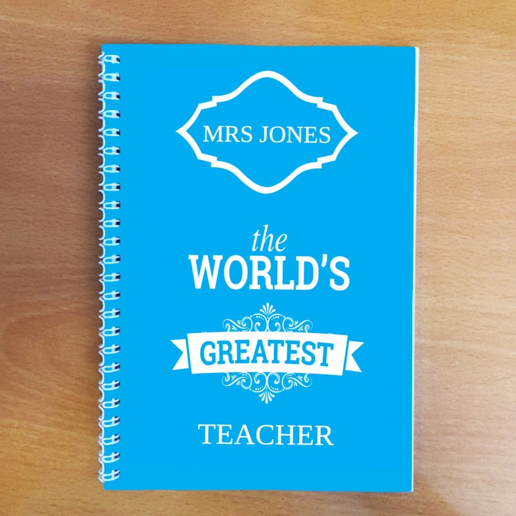 World's Greatest Teacher Notebook