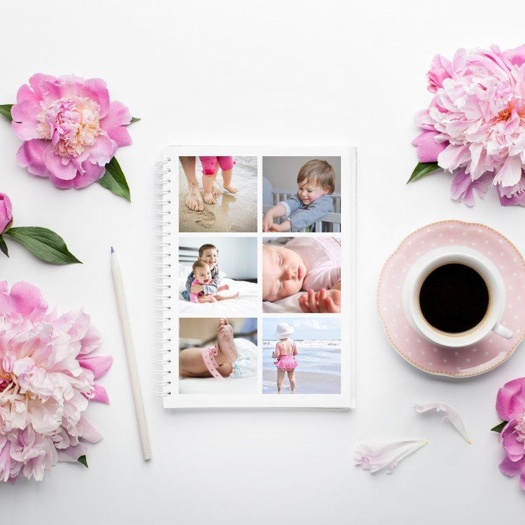 Personalised Photo Notebook - 6 Photos
