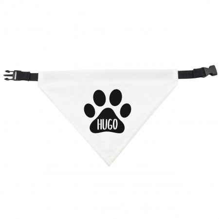 Dog Bandana Paw Print Design