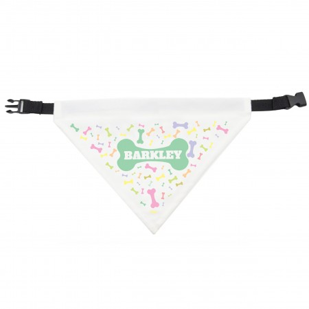 Dog Bandana Colourful Bones Design