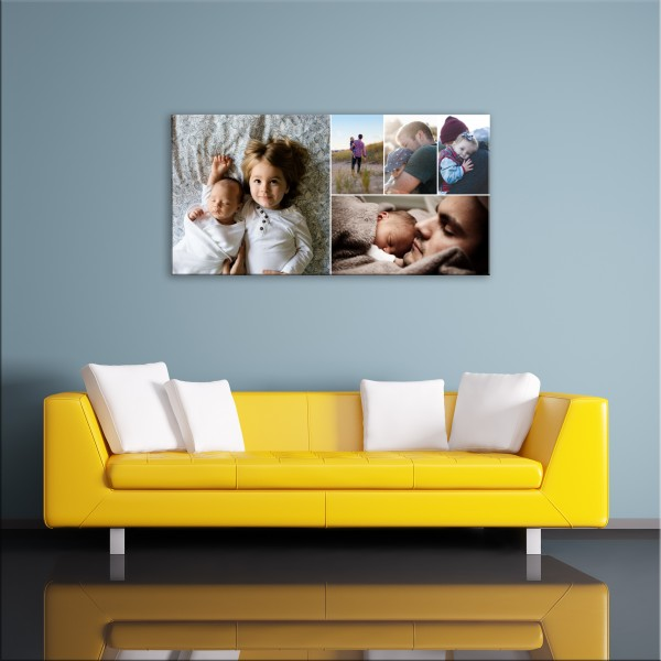 Collage Canvas Gift