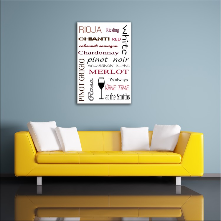 Kitchen Style - Typography Canvas