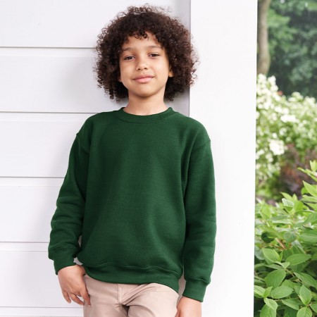Sweatshirts.  Printed or embroidered - Children's.