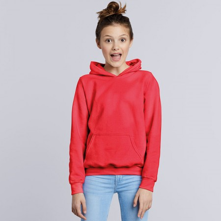 Hoodies - Pull on.  Printed or embroidered - Children's.