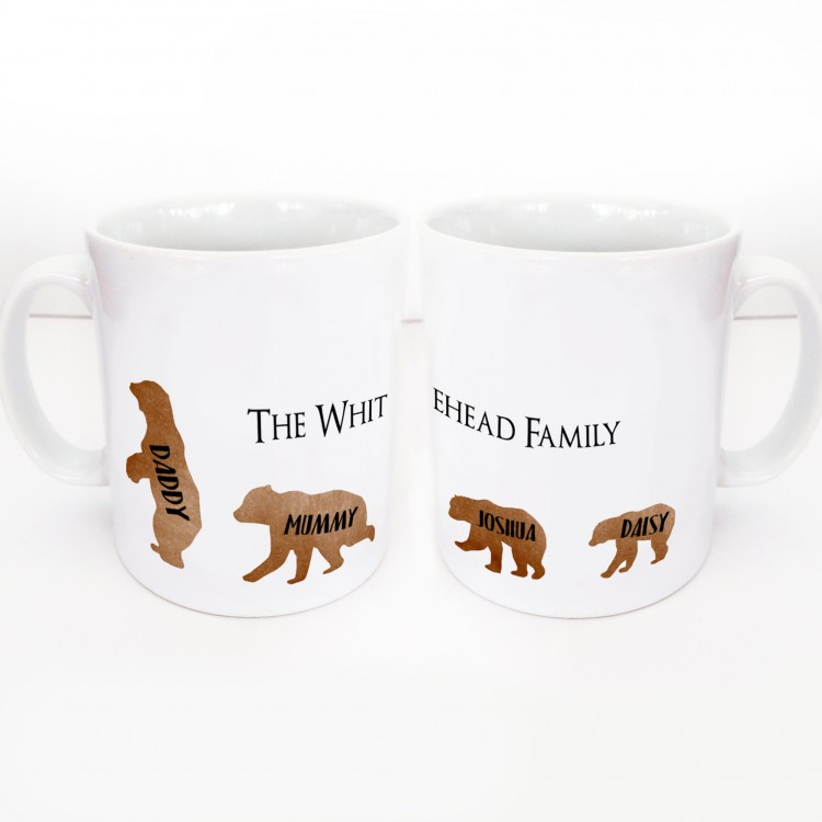 Bear Wrap around Mug