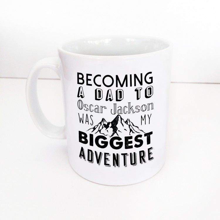 Dad - biggest adventure Mug