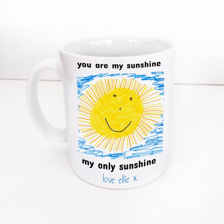 Photo upload- Childrens Artwork Mug