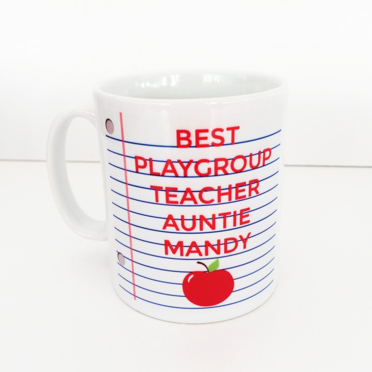 Notebook Teacher Mug
