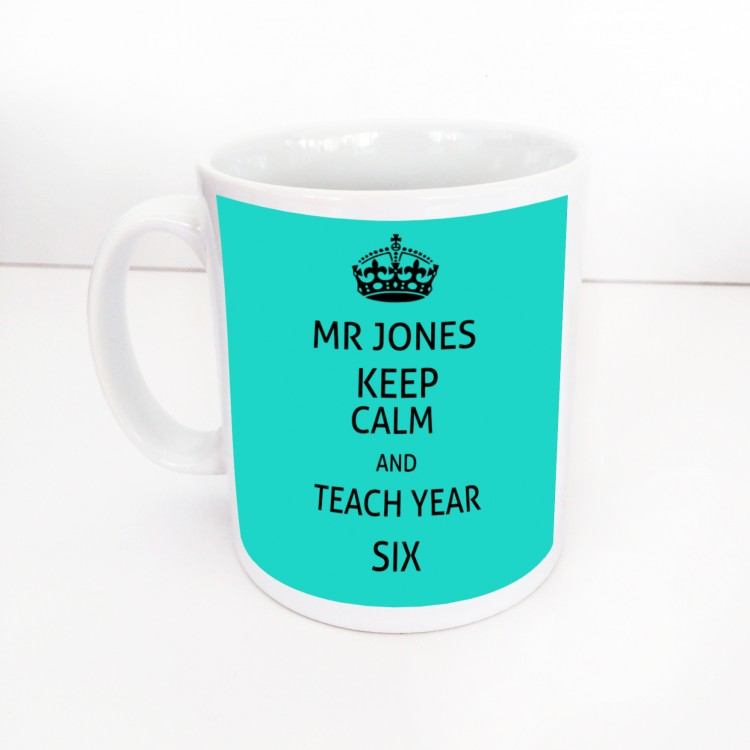 Keep Calm & Teach Mug