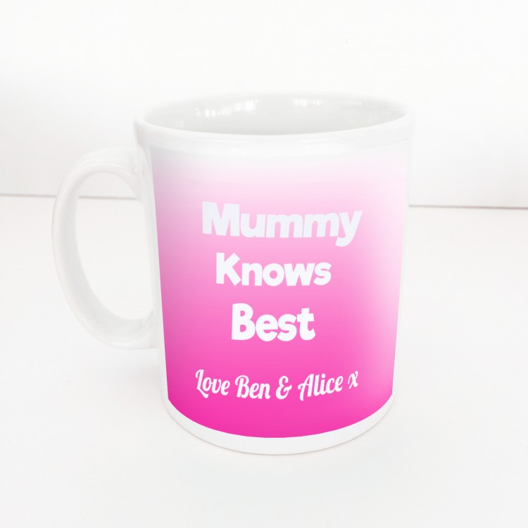 Mummy Knows Best Mug