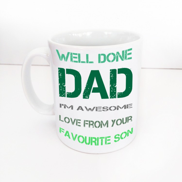 Well done Dad Mug