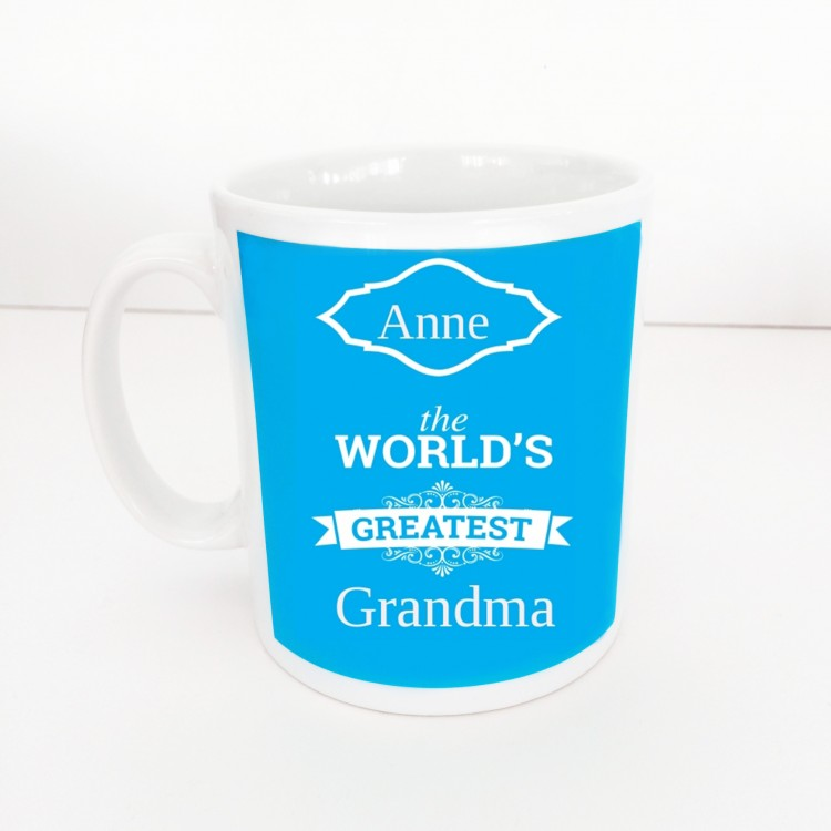 Worlds Greatest Grandma Mug