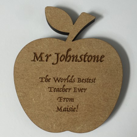 'Apple for the Teacher'  Coaster Gift